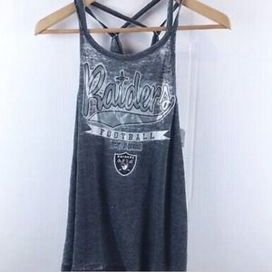 New with tags Raiders tank top L w29